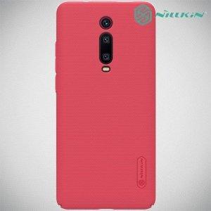 NILLKIN Super Frosted Shield Клип кейс накладка для Xiaomi Mi 9T - Красный