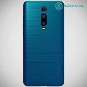 NILLKIN Super Frosted Shield Клип кейс накладка для Xiaomi Mi 9T - Синий