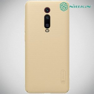 NILLKIN Super Frosted Shield Клип кейс накладка для Xiaomi Mi 9T - Золотой