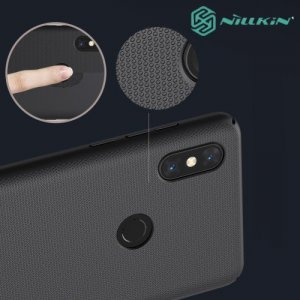 NILLKIN Super Frosted Shield Клип кейс накладка для Xiaomi Mi Mix 3 - Черный
