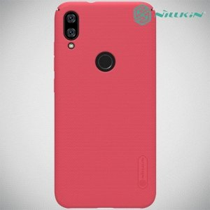 NILLKIN Super Frosted Shield Клип кейс накладка для Xiaomi Mi Play - Красный