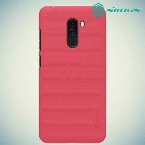 NILLKIN Super Frosted Shield Клип кейс накладка для Xiaomi Pocophone F1 - Красный