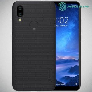 NILLKIN Super Frosted Shield Клип кейс накладка для Xiaomi Redmi 7 - Черный
