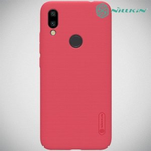NILLKIN Super Frosted Shield Клип кейс накладка для Xiaomi Redmi 7 - Красный