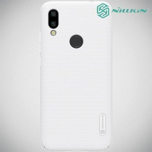 NILLKIN Super Frosted Shield Клип кейс накладка для Xiaomi Redmi 7 - Белый