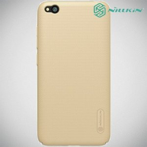 NILLKIN Super Frosted Shield Клип кейс накладка для Xiaomi Redmi Go - Золотой