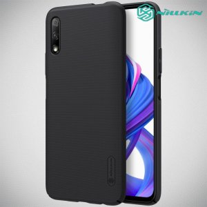 NILLKIN Super Frosted Shield Матовая Пластиковая Нескользящая Клип кейс накладка для Huawei Honor 9X - Черный