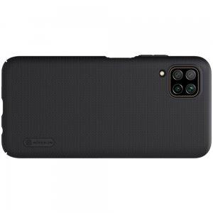 NILLKIN Super Frosted Shield Матовая Пластиковая Нескользящая Клип кейс накладка для Huawei P40 Lite - Черный