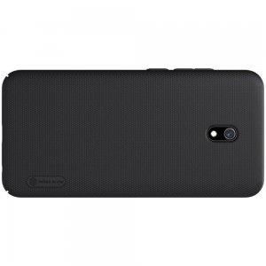 NILLKIN Super Frosted Shield Матовая Пластиковая Нескользящая Клип кейс накладка для Xiaomi Redmi 8A - Черный
