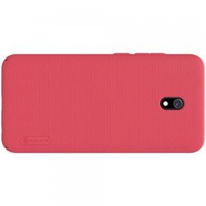 NILLKIN Super Frosted Shield Матовая Пластиковая Нескользящая Клип кейс накладка для Xiaomi Redmi 8A - Красный