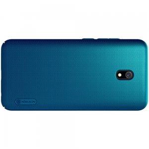 NILLKIN Super Frosted Shield Матовая Пластиковая Нескользящая Клип кейс накладка для Xiaomi Redmi 8A - Синий
