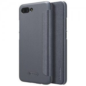Nillkin ультра тонкий чехол книжка для Huawei Honor 10 - Sparkle Case Серый