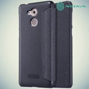 Nillkin ультра тонкий чехол книжка для Huawei Honor 6C - Sparkle Case Серый