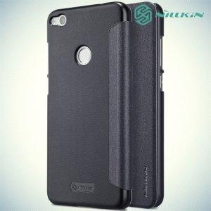 Nillkin ультра тонкий чехол книжка для Huawei Honor 8 lite / P8 lite (2017) - Sparkle Case Серый