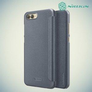 Nillkin ультра тонкий чехол книжка для Huawei Honor View 10 (V10) - Sparkle Case Серый