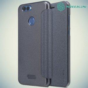 Nillkin ультра тонкий чехол книжка для Huawei Nova 2 - Sparkle Case Серый