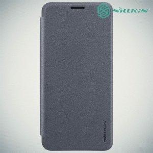 Nillkin ультра тонкий чехол книжка для Huawei nova 2s - Sparkle Case Серый