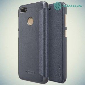 Nillkin ультра тонкий чехол книжка для Huawei Nova lite 2017 - Sparkle Case Серый