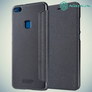 Nillkin ультра тонкий чехол книжка для Huawei P10 Lite - Sparkle Case Серый