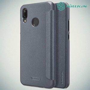 Nillkin ультра тонкий чехол книжка для Huawei P20 Lite - Sparkle Case Серый
