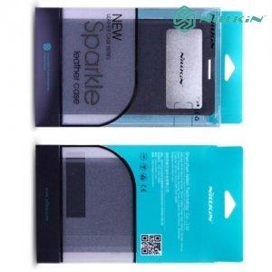 Nillkin ультра тонкий чехол книжка для iPhone 6S / 6 - Sparkle Case Черный