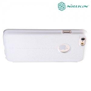 Nillkin ультра тонкий чехол книжка для iPhone 6S / 6 - Sparkle Case Белый