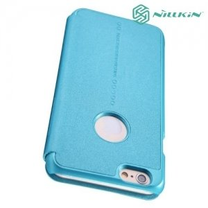 Nillkin ультра тонкий чехол книжка для iPhone 6S / 6 - Sparkle Case Голубой