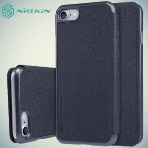 Nillkin ультра тонкий чехол книжка для iPhone 8/7 - Sparkle Case Серый