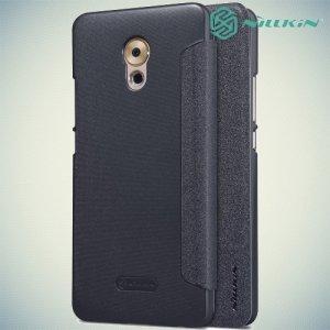 Nillkin ультра тонкий чехол книжка для Meizu Pro 6 Plus - Sparkle Case Серый