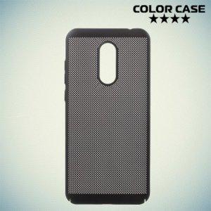 Охлаждающий перфорированный чехол для Xiaomi Redmi 5 Plus - Черный