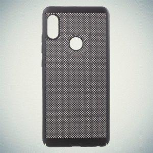 Охлаждающий перфорированный чехол для Xiaomi Redmi Note 5 / Note 5 Pro - Черный