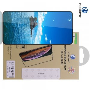 Олеофобное Закаленное Защитное Стекло для Huawei Honor 30S / Honor 30S черное