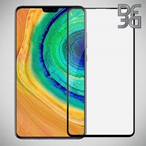 Олеофобное Закаленное Защитное Стекло для Huawei Mate 30 черное