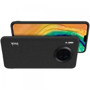 Олеофобное Закаленное Защитное Стекло для Huawei Mate 30 песочно-черное