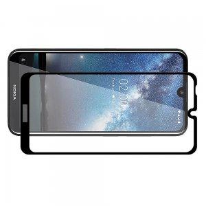 Олеофобное Закаленное Защитное Стекло для Nokia 2.2 черное