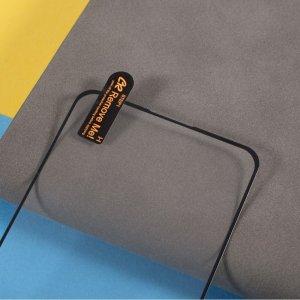 Олеофобное Закаленное Защитное Стекло для Realme 8 / 8 Pro черное