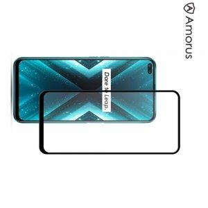 Олеофобное Закаленное Защитное Стекло для Realme X3 Super Zoom черное