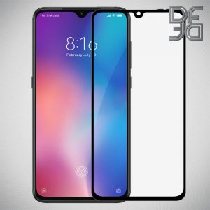 Олеофобное Закаленное Защитное Стекло для Xiaomi Mi 9 lite / Mi 9 черное