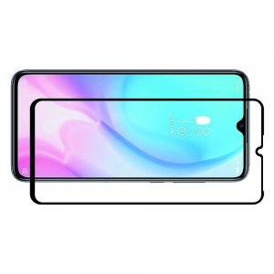 Олеофобное Закаленное Защитное Стекло для Xiaomi Mi 9 lite чёрная рамка