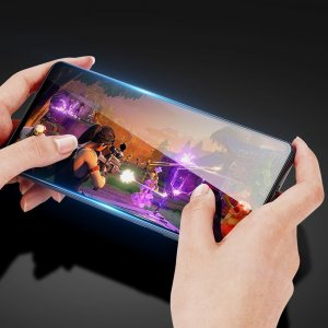 Олеофобное Закаленное Защитное Стекло для Xiaomi POCO F3 черное