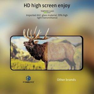 Олеофобное Закаленное Защитное Стекло для Xiaomi Redmi Note 10 Pro черное