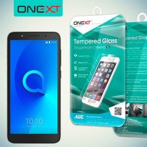 OneXT Закаленное противоударное защитное стекло на Alcatel 1C 5009D Dual Sim