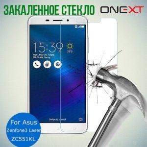 OneXT Закаленное защитное стекло для Asus ZenFone 3 Laser ZC551KL