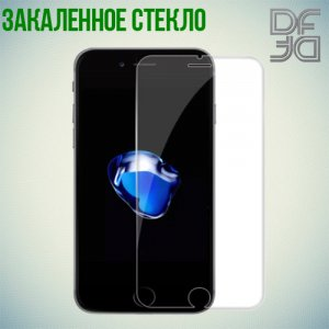 DF Закаленное защитное стекло для iPhone 8/7