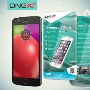 OneXT Закаленное защитное стекло для Moto E4