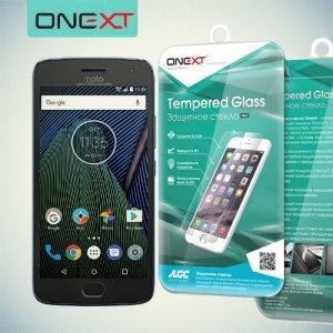 OneXT Закаленное защитное стекло для Moto G5 Plus