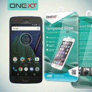 OneXT Закаленное защитное стекло для Moto G5