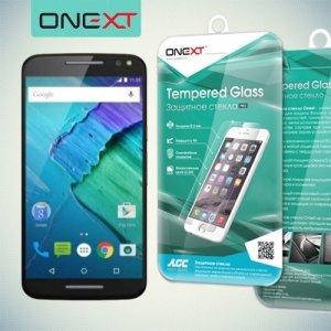 OneXT Закаленное защитное стекло для Motorola Moto X Style