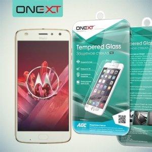 OneXT Закаленное защитное стекло для Motorola Moto Z2 Play