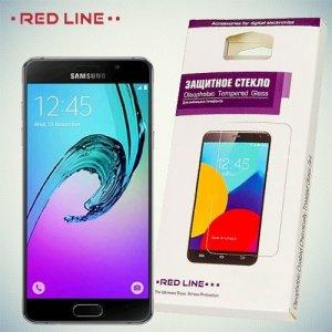 RedLine Закаленное защитное стекло для Samsung Galaxy A5 2016 SM-A510F